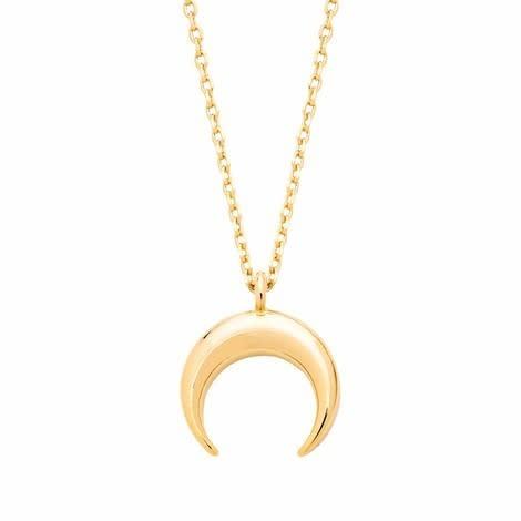 Estella Bartlett  Curved Horn Necklace
