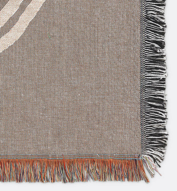 Ferm Living Mirage Blanket Throw Wall Covering Grey