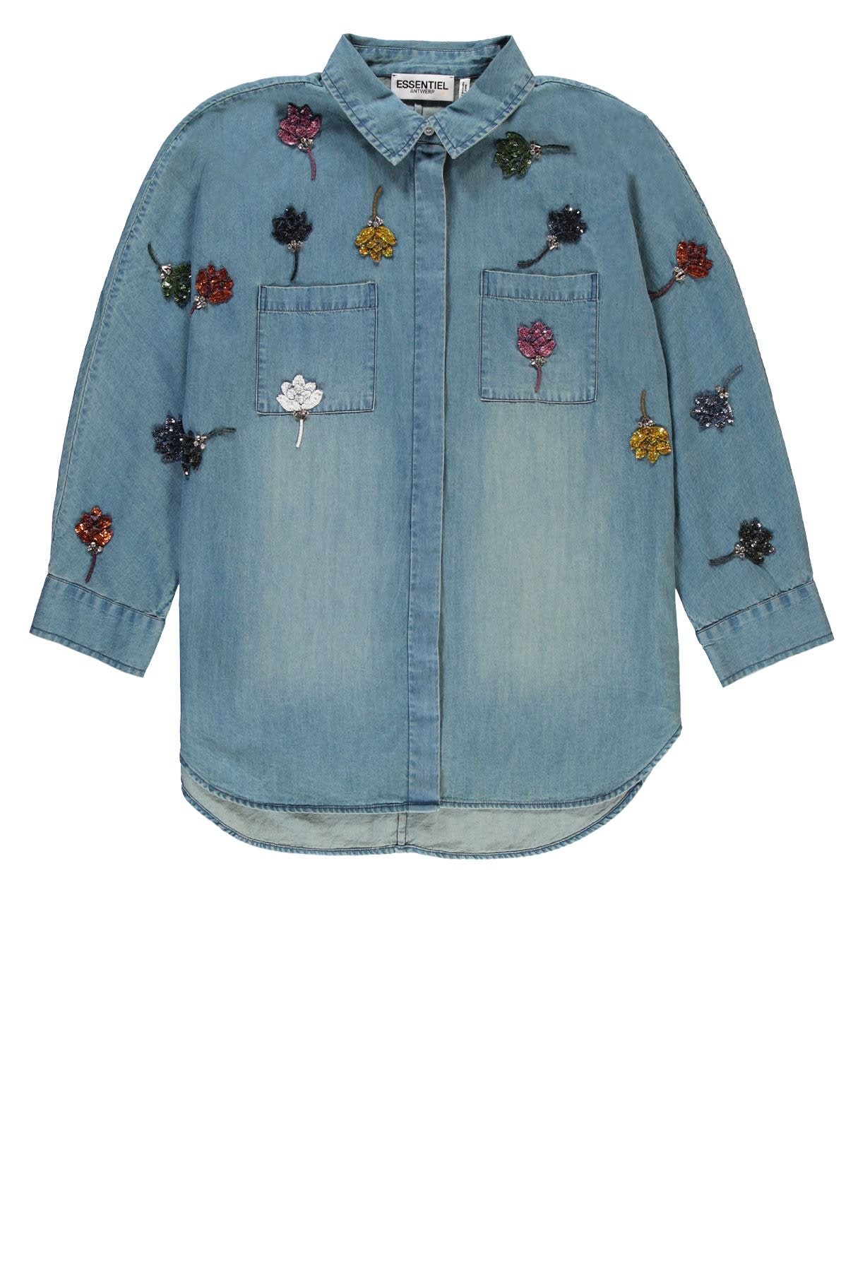 Essentiel Antwerp Rembo Sequined Jeans Shirt