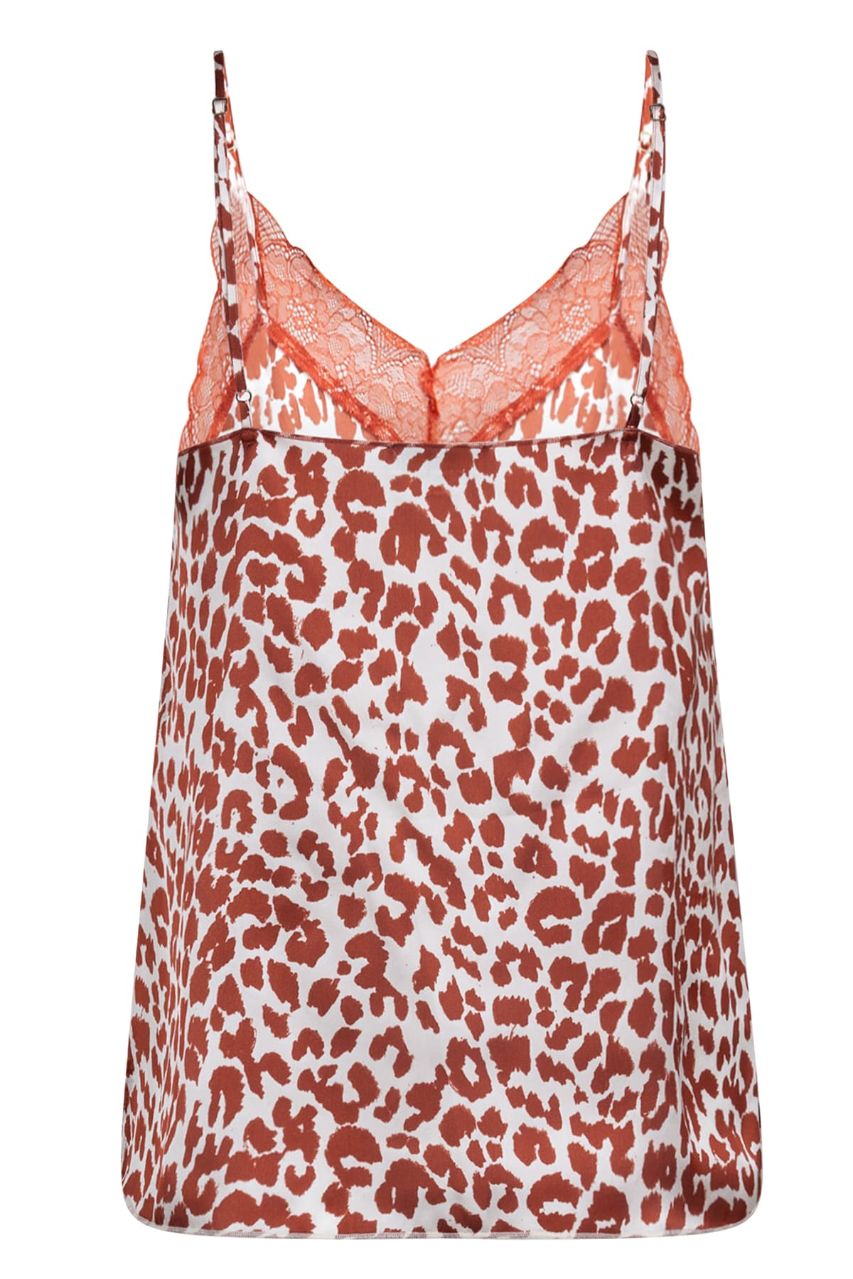 Love Stories Rust Red Leo Camisole Camelia
