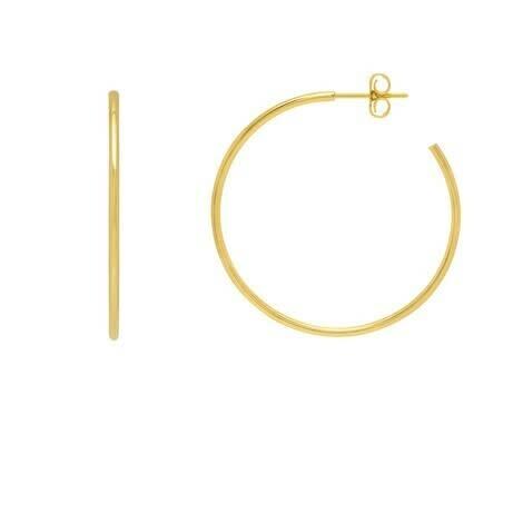 Estella Bartlett  Gold Hoop Earrings