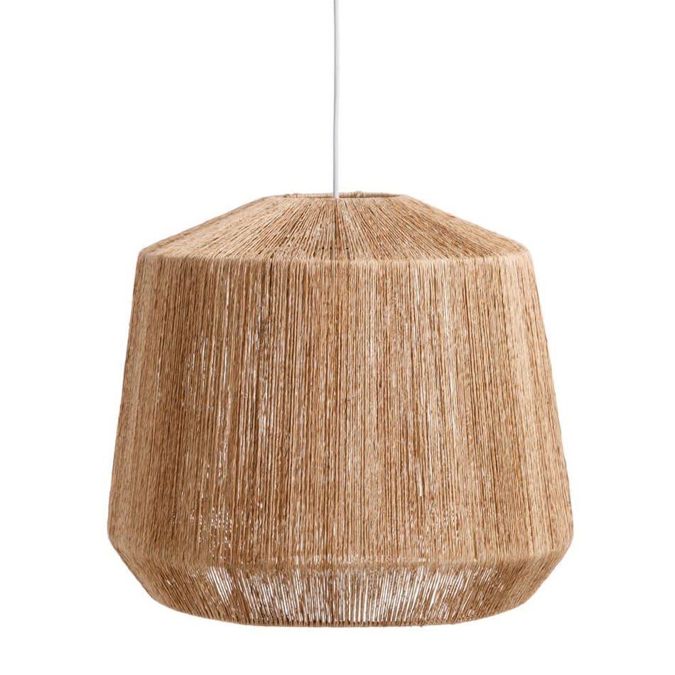 MaheHomeware Jute Lamp Carousel