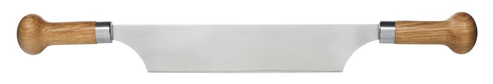 Sagaform 2 Handled Oak Cheese Knife