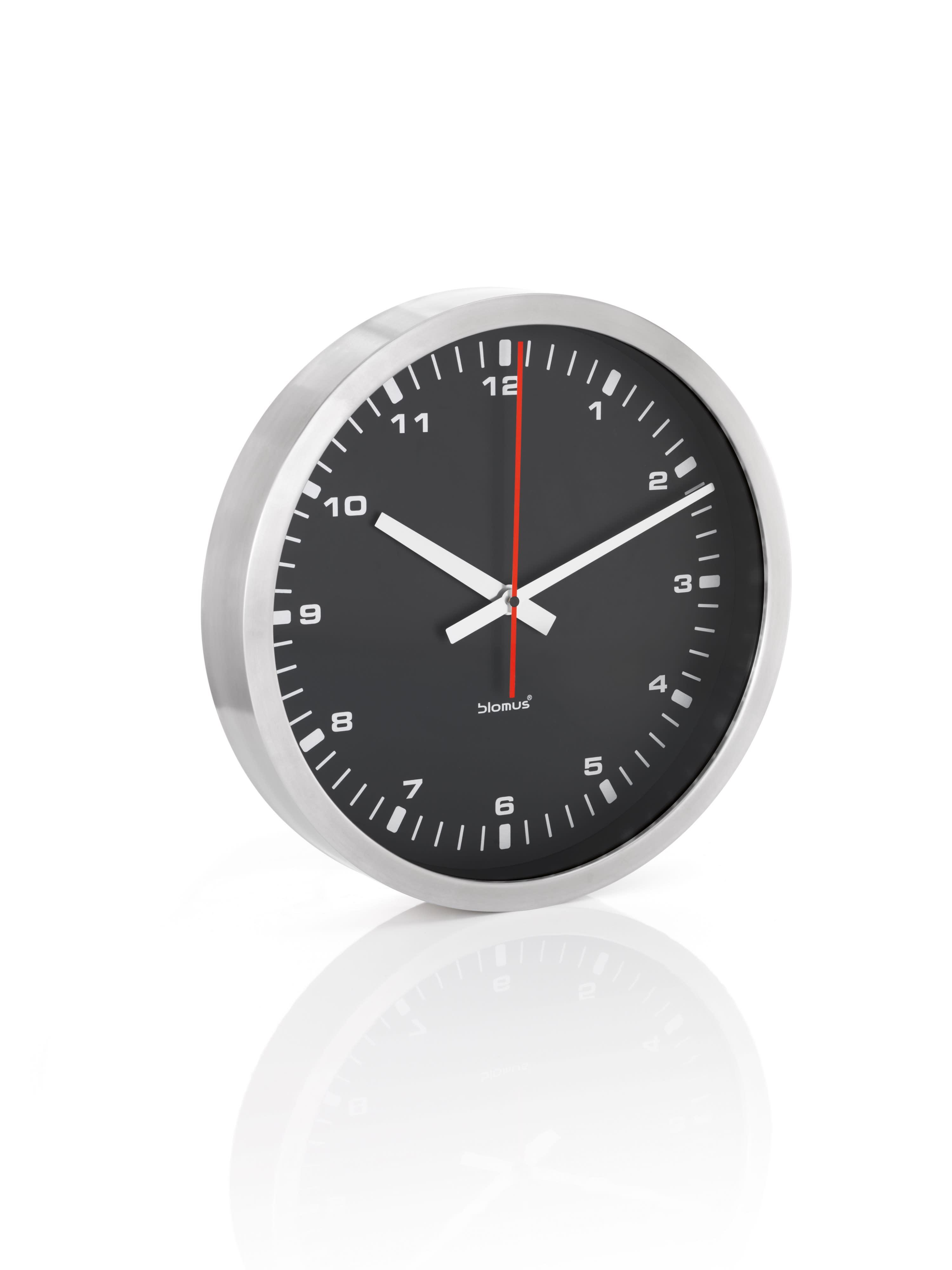 Blomus Era Black Wall Clock 40cm