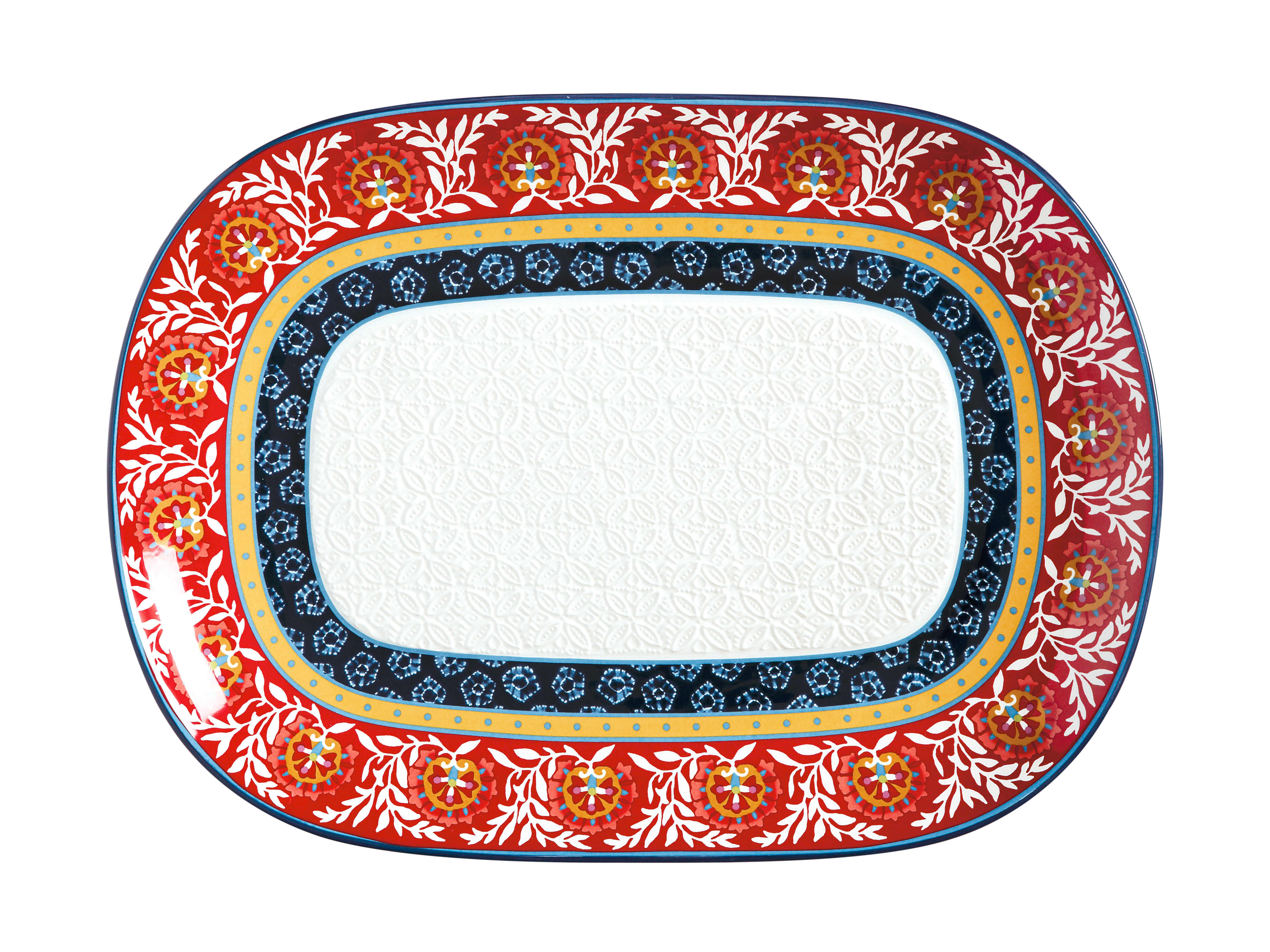Maxwell & Williams Boho Oblong Platter 45cm x 33cm