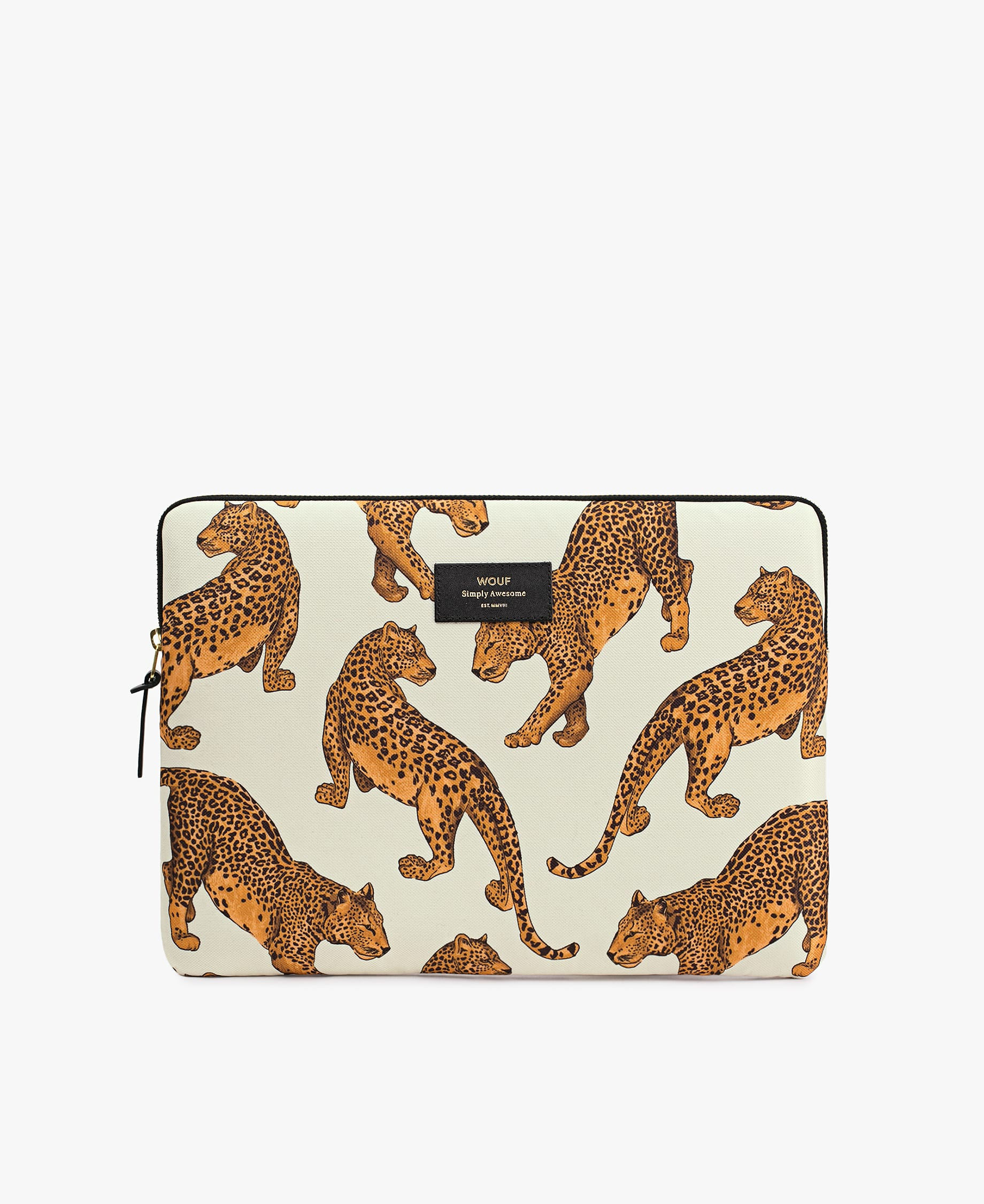 Wouf Leopard Laptop Case