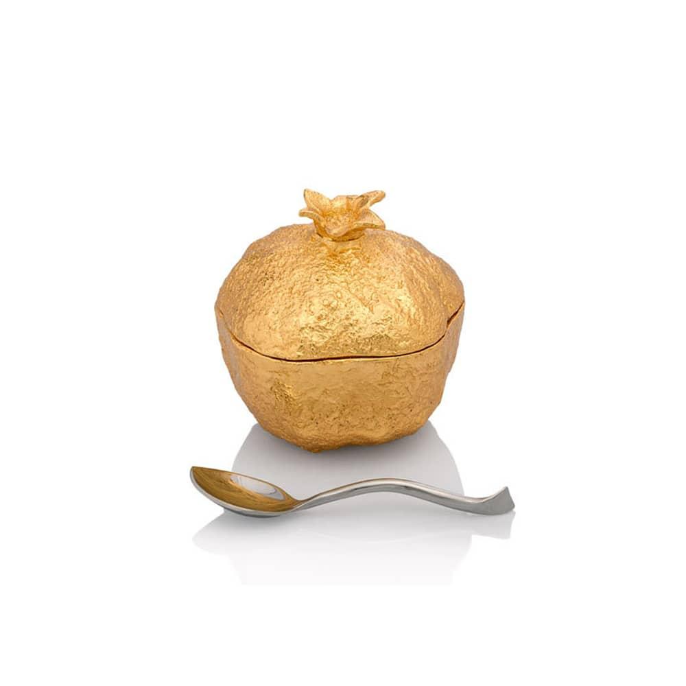 Michael Aram Pomegranate Mini-Pot And Spoon