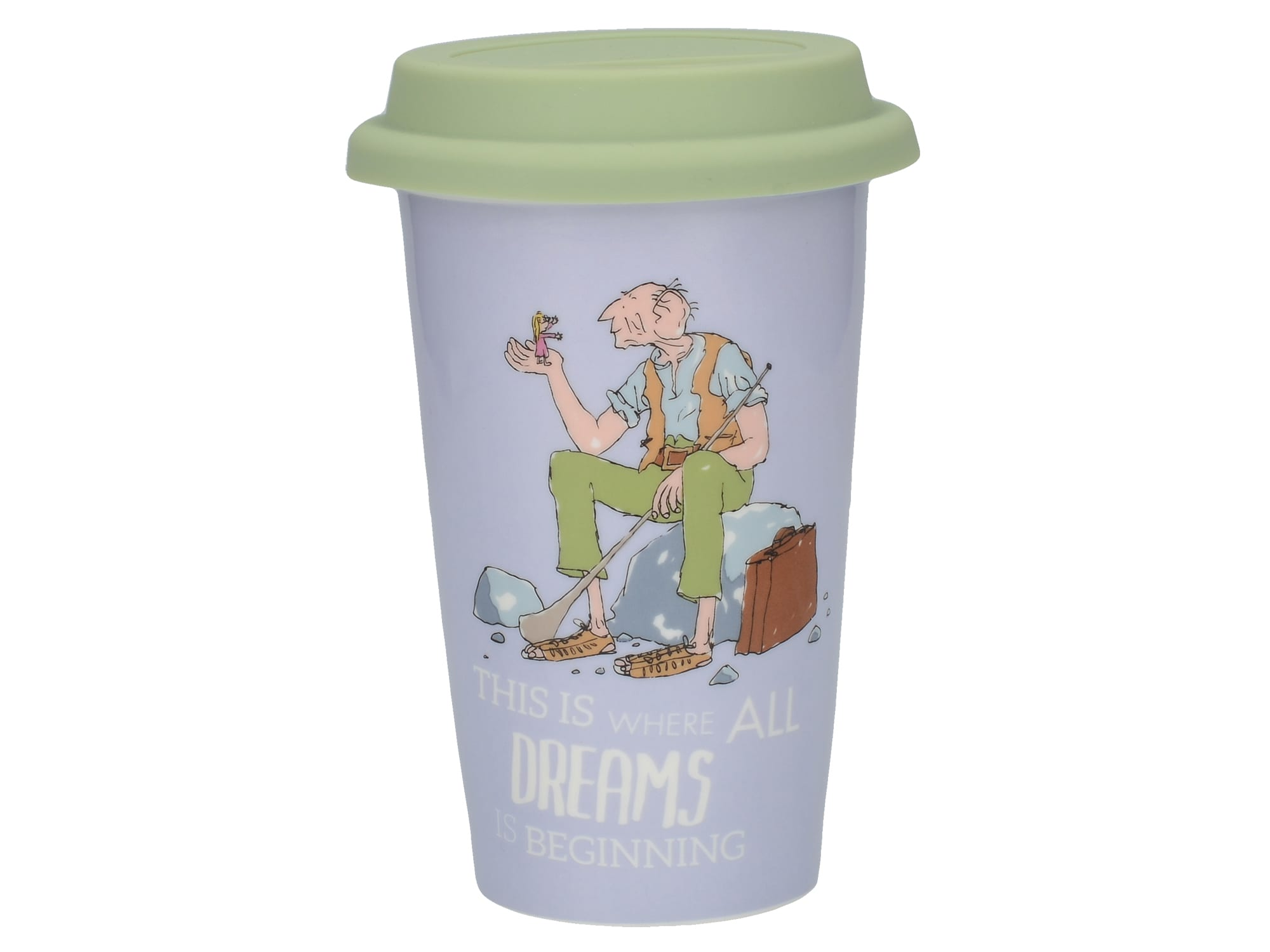 Creative tops BFG Travel Mug With Embossed Lid