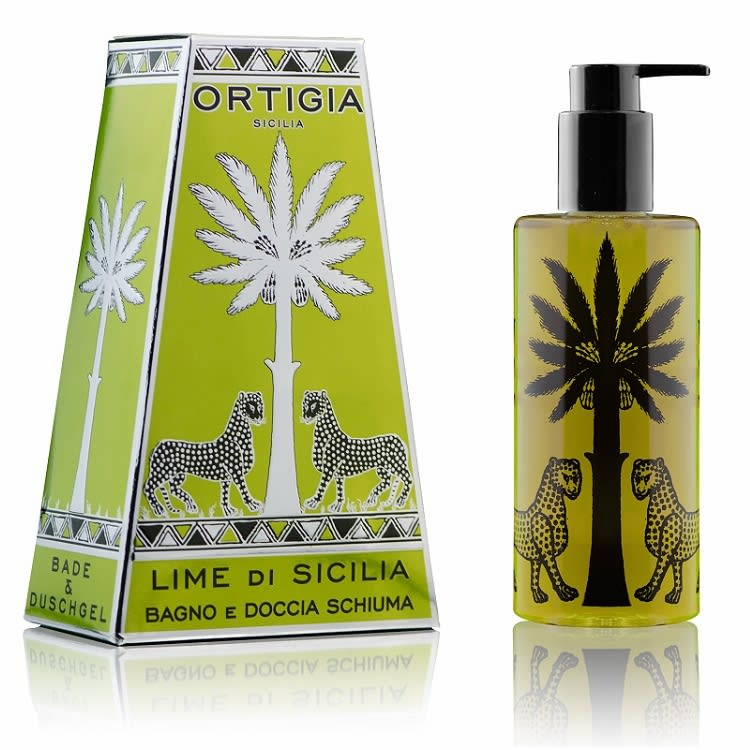 Ortigia 250Ml Lime Shower Gel
