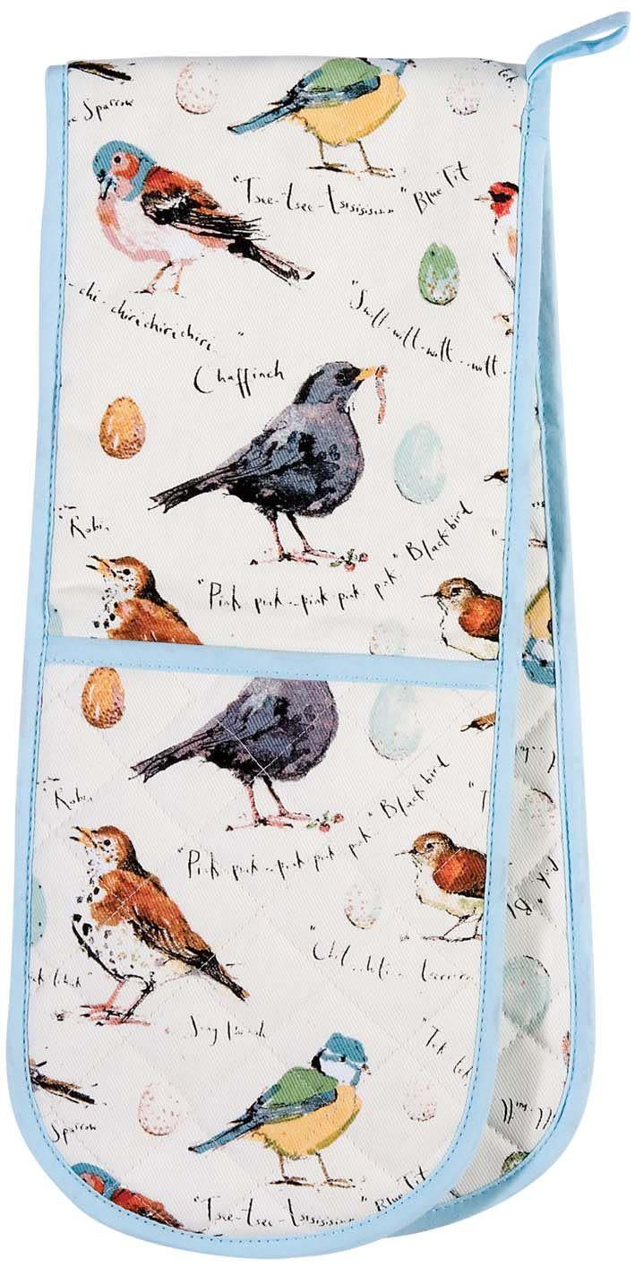 Ulster Weavers Birdsong Double Oven Glove