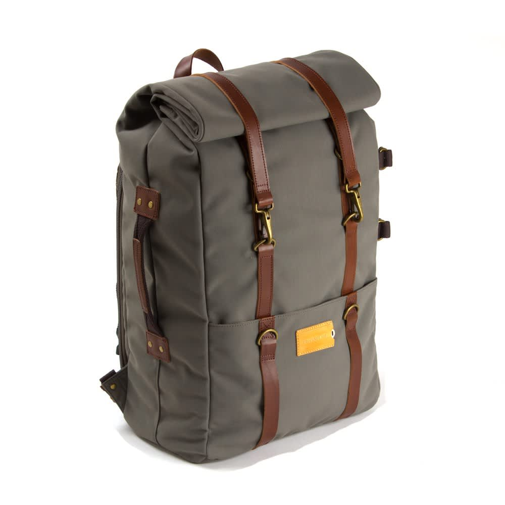 Property Of Karl 48h Travel Backpack-Moss Grey/Brown