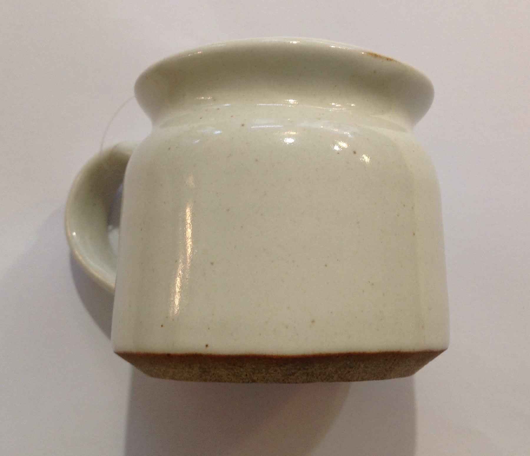 New Overseas Traders White Handmade Fairtrade Mug