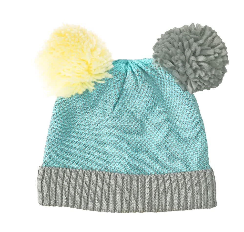 Rockahula Double Bobble Knitted Hat