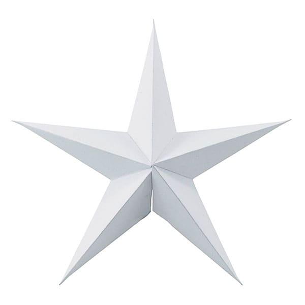 White Decorative Paper Star