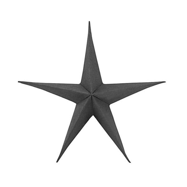 Mink Interiors Black Decorative Paper Star