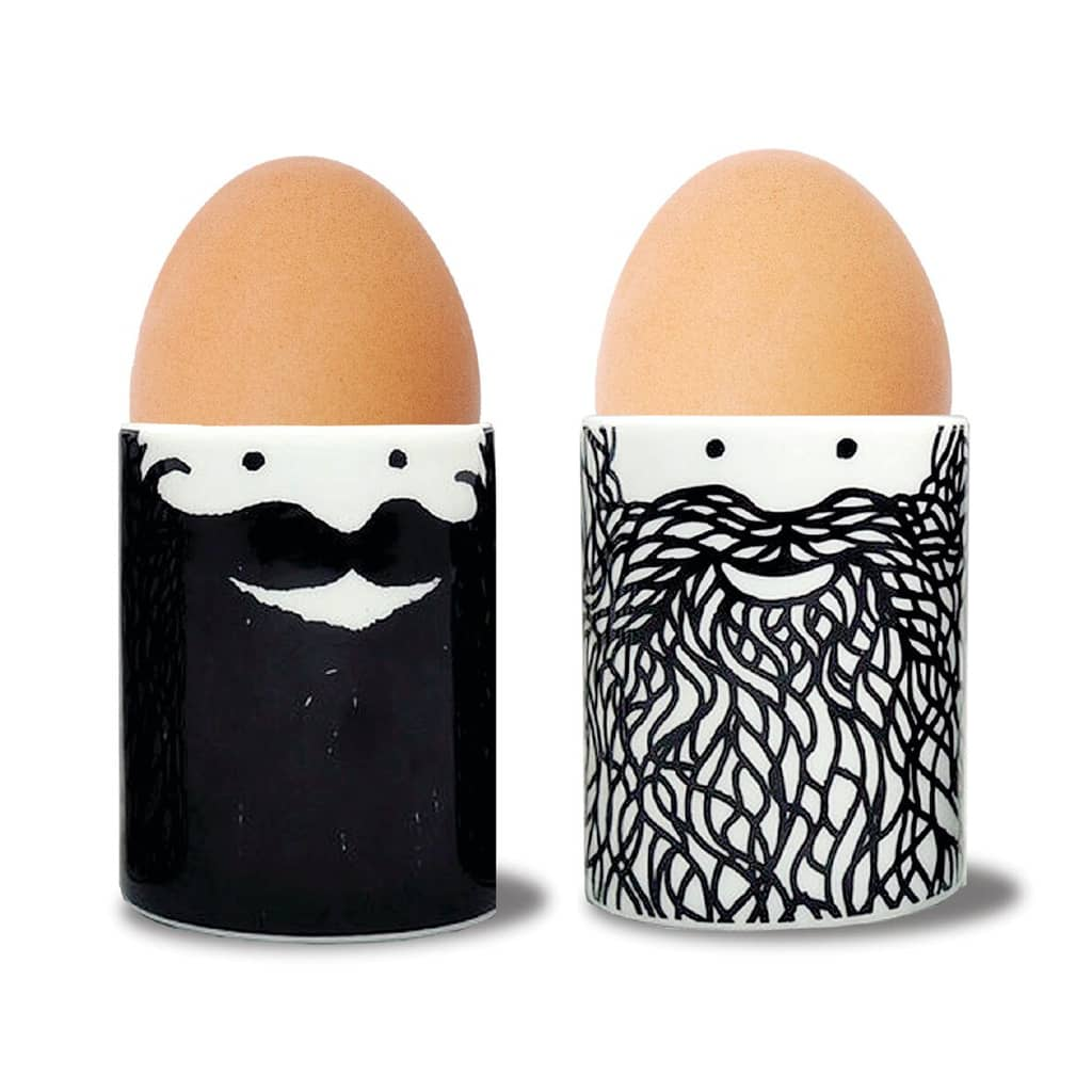 U Studio Hubert And George Ceramic Egg Cups