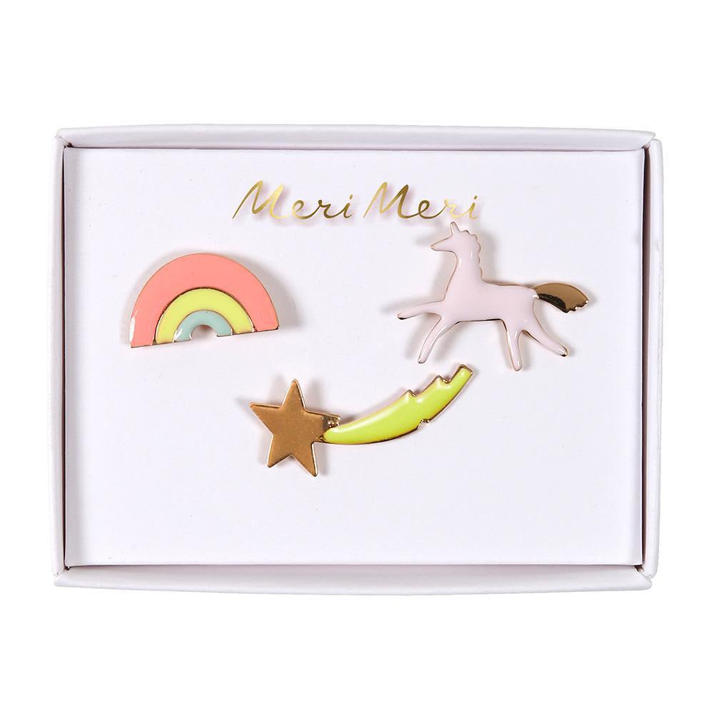 Meri Meri Unicorn Enamel Pin Badge