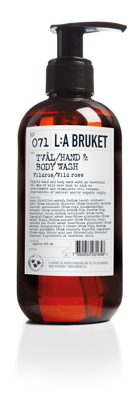 L:A Bruket Wildrose Liquid Soap 250 ml