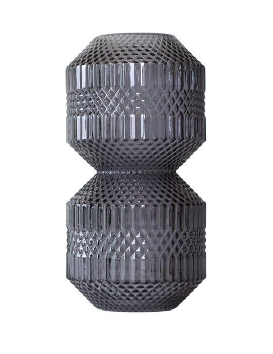 Specktrum Grey Stacked Roaring Vase