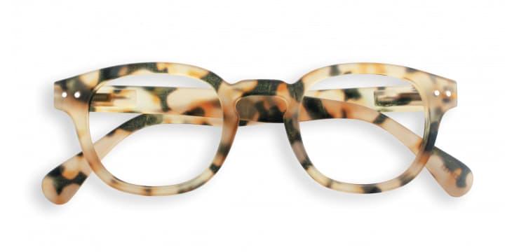 IZIPIZI Light Tortoise Frame Shape C Reading Glasses