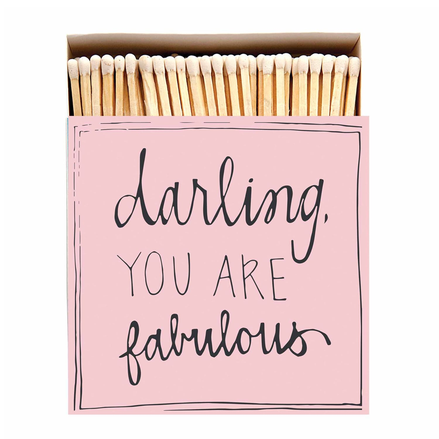 Archivist 'Darling You Are Fabulous' Box Of Matches