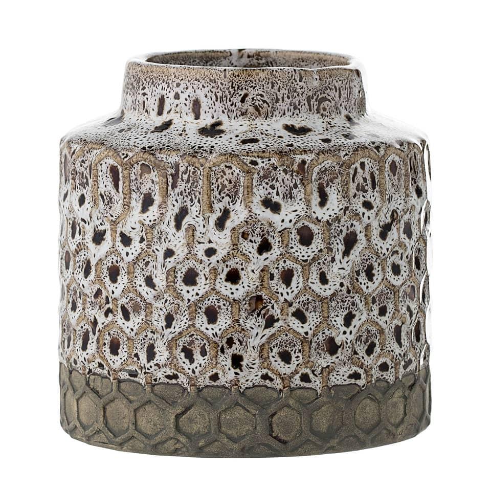 Bloomingville Natural Stoneware Vase