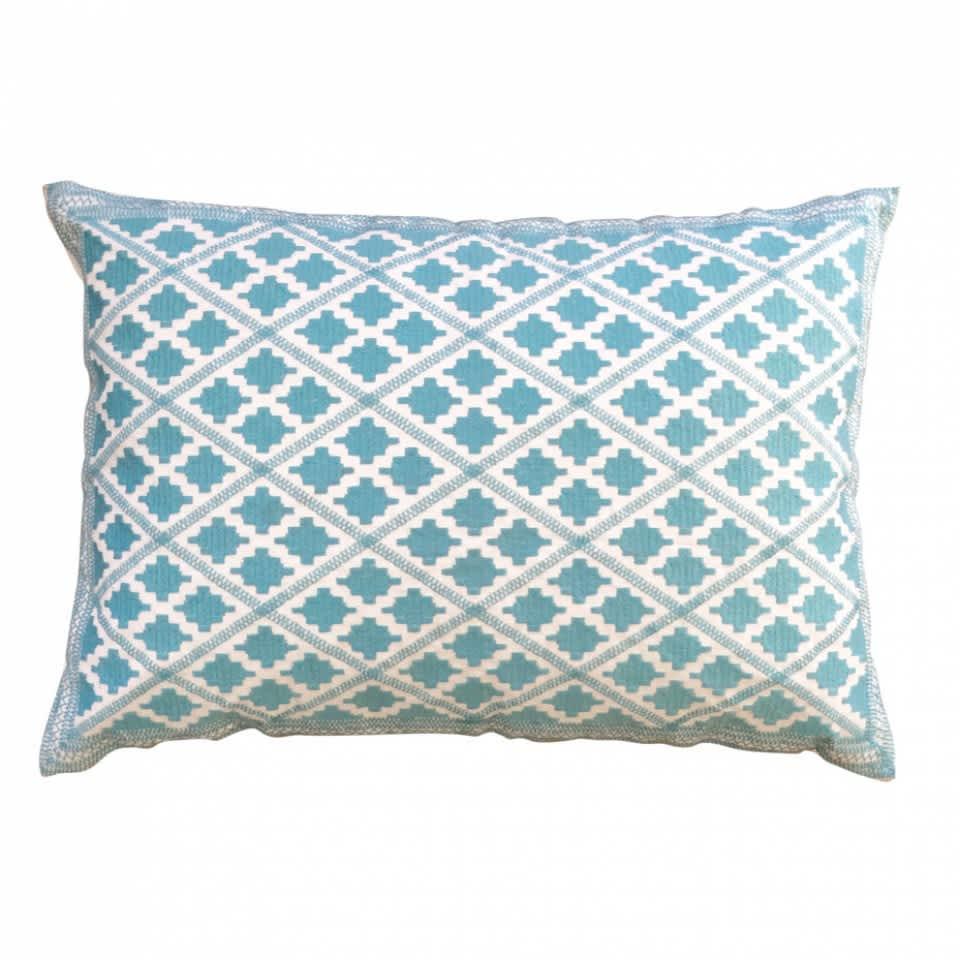 Bombay Duck Timbuktu Diamond Embroidered Cushion