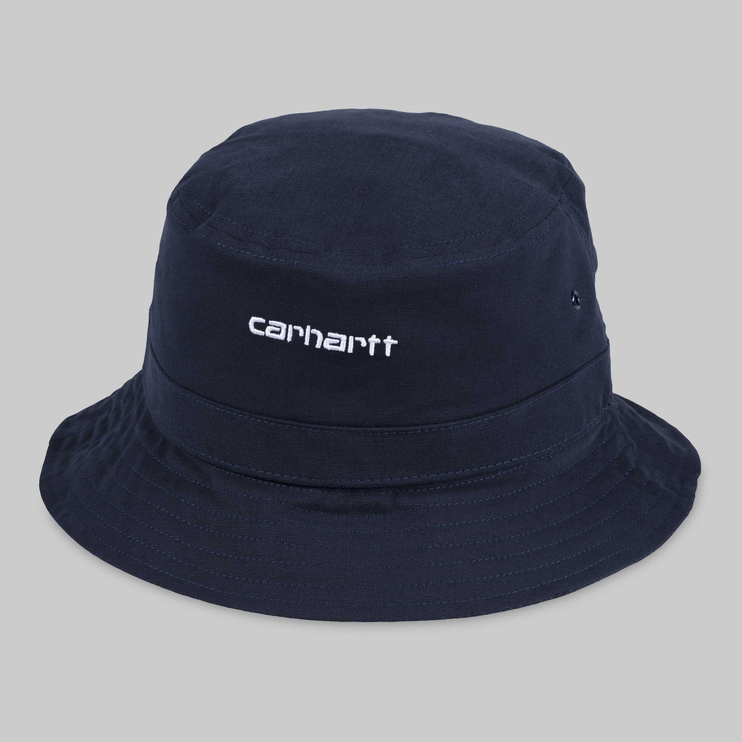 65d01fd9a Trouva: Sombrero azul marino de Bucket