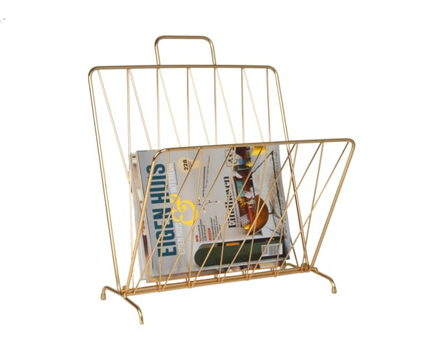 Present Time Diamond Raster Magazine Rack