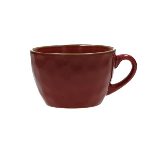 Rose&Tulipani Red Concerto Breakfast Mug