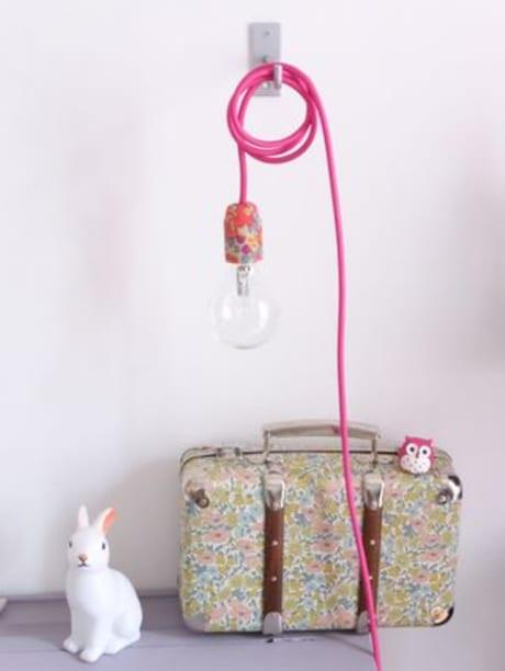 trouva nini la duchesse liberty rose print light. Black Bedroom Furniture Sets. Home Design Ideas