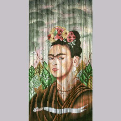 Trouva Frida Kahlo Bamboo Curtain