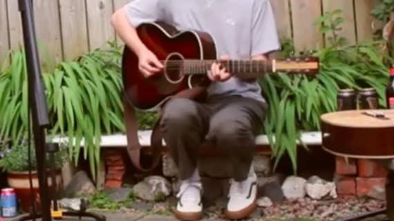Watch Joshua Burnside's streaming performance for Rockwood Music Hall