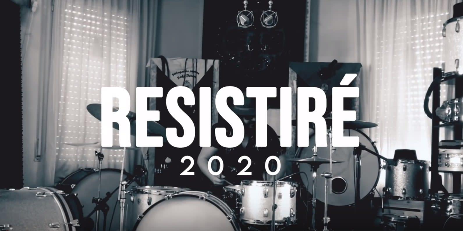 "Spanish musicians unite to sing ""Resistire"""