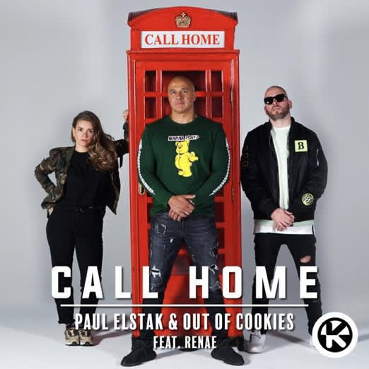 """Paul Elstak & Out of Cookies collab on new single """"Call Home"""""""