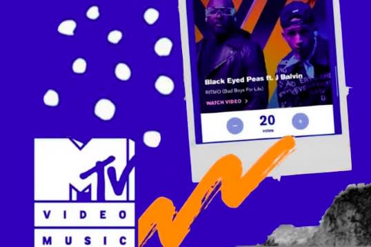 "JBalvin and The Black Eyed Peas' ""RITMO (Bad Boys For Life)"" nominated for MTV Music Award for Best Collaboration"