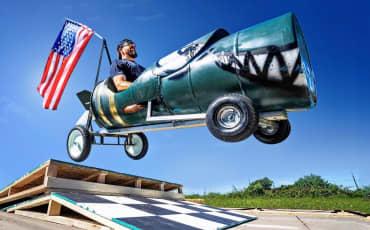 Dude Perfect | Fastest Soapbox Car Wins