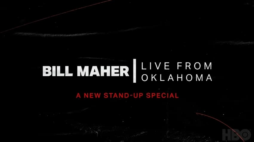 "Bill Maher: Live From Oklahoma promo featuring ""Heaven's Got A Back Door"""