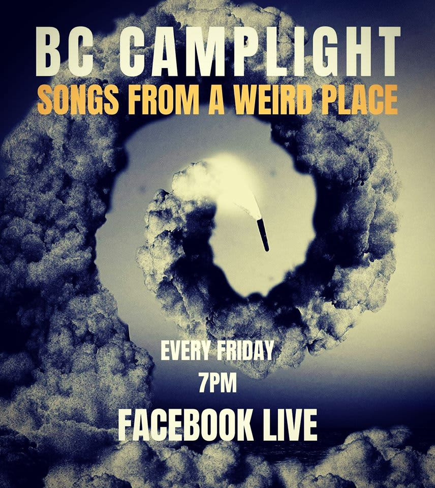 BC Camplight streaming live every Friday!