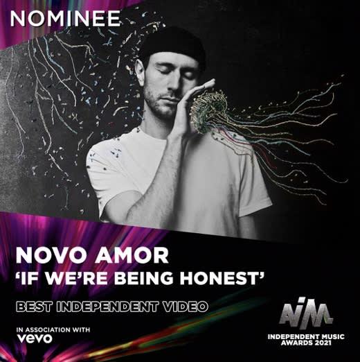 Novo Amor nominated for AIM 2021's Best Independent Video Award