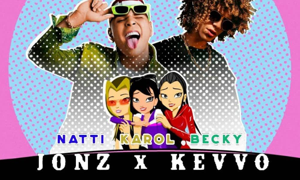 """Jon Z & Kevvo's music video for """"Natti, Karol, Becky"""" debuted at #1 in the Dominican Republic"""