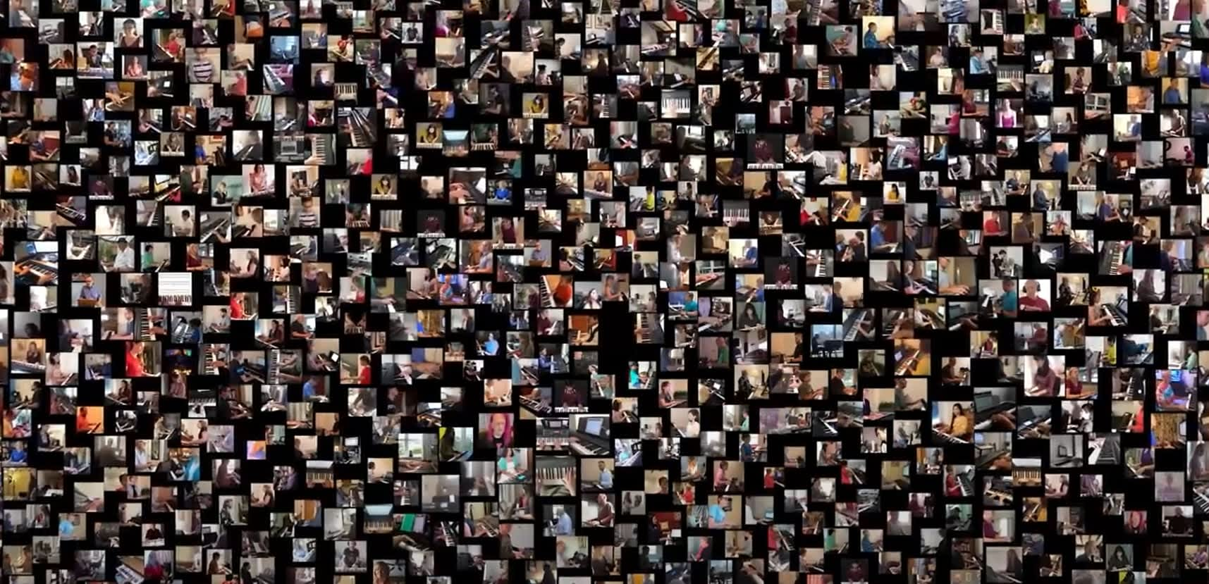 """""""You Raise Me Up"""" video sets record for largest virtual piano recital in history"""