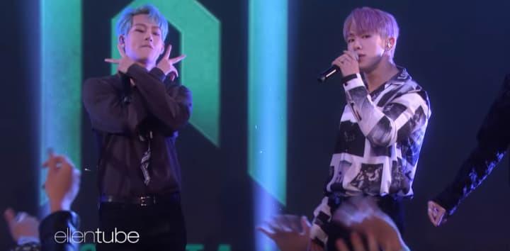 """""""Who Do U Love"""" performed live on Ellen"""
