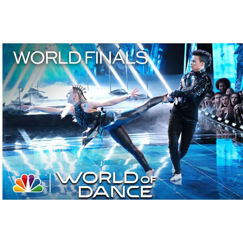 Charity & Andres World of Dance