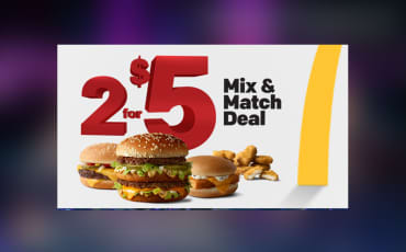 "McDonald's ""2 for $5"""