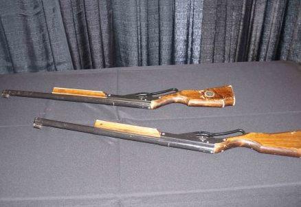 Cork & Rifle Carnival Game