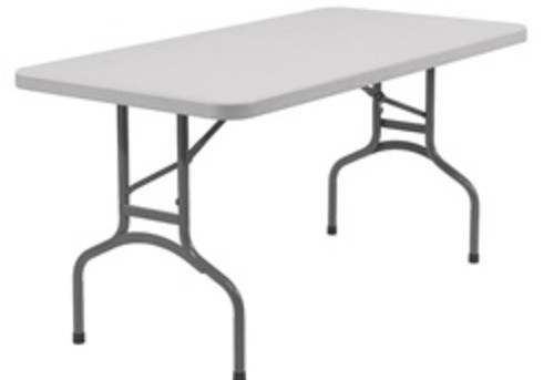 8 Ft. Plastic Tables