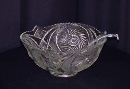 Glass Punch Bowl - 2 gallon