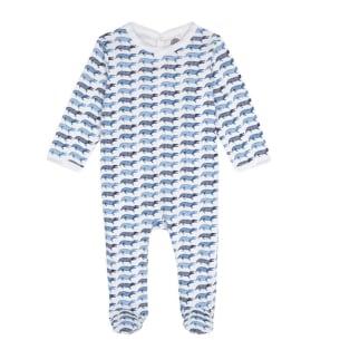 Pyjamas bébé imprimé crocodile