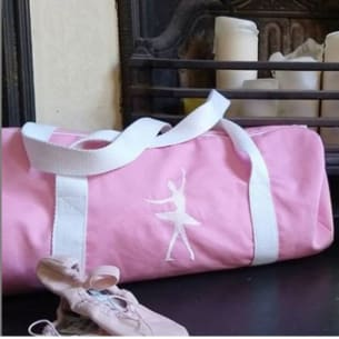The Ballerina or Sport Bag 12L - Custom with first Name